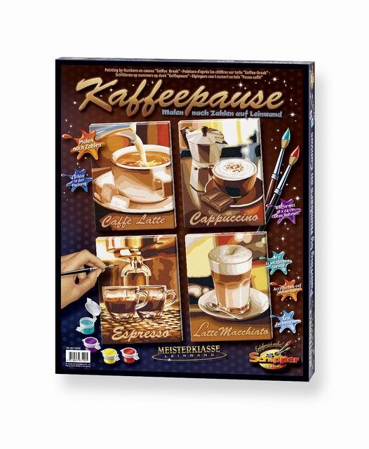 Художественный творческий набор Кофе 4 в 1