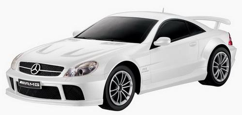Автомобиль радиоуправляемый - Mercedes-Benz SL65 AMG (белый, 1:28)