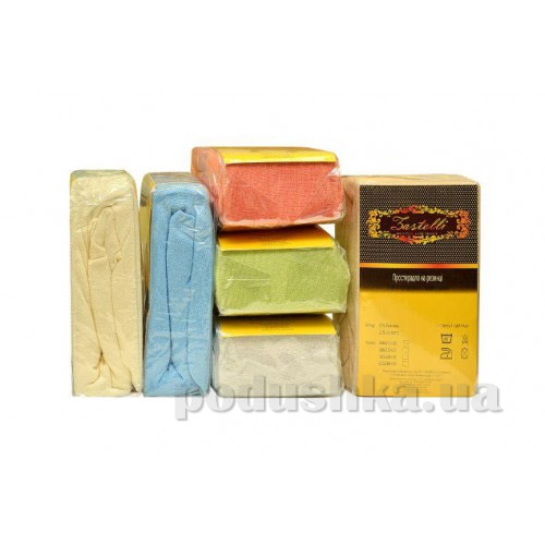 Простынь махровая на резинке Zastelli 100х200 см  Zastelli
