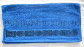 Полотенце махровое Belle-Textile LX299 синее
