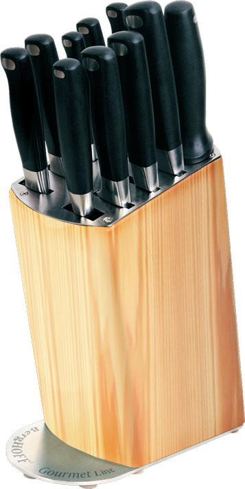 Набор ножей GOURMET LINE кованные в колоде 11 предметов, BergHOFF