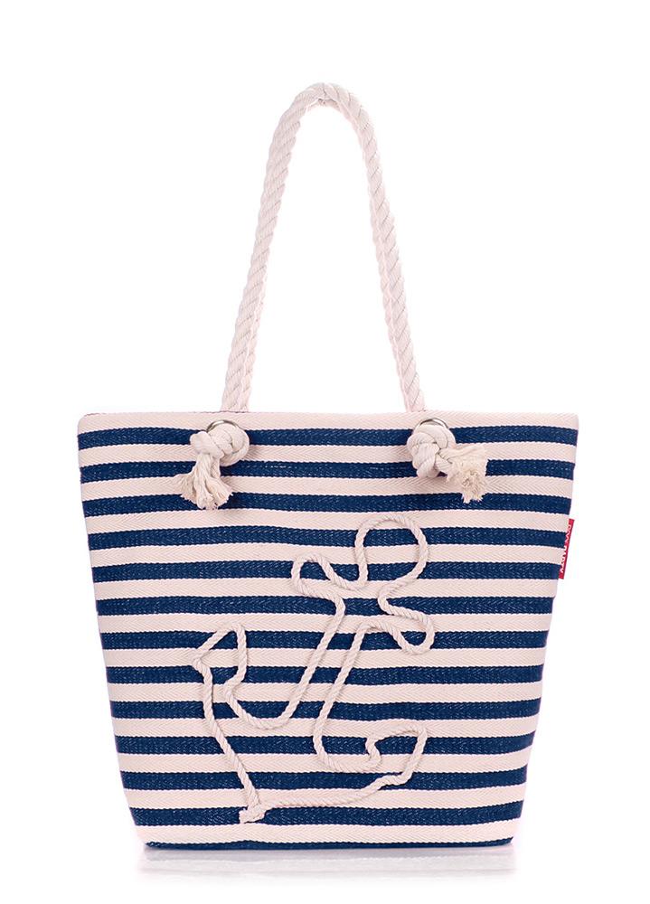 Коттоновая сумка с якорем Poolparty Anchor blue