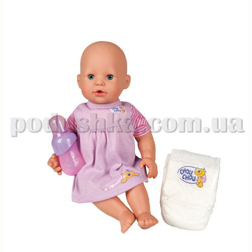 Кукла CHOU CHOU - ВЕСЕЛОЕ КУПАНИЕ (42 см, с бутылочкой и подгузником)