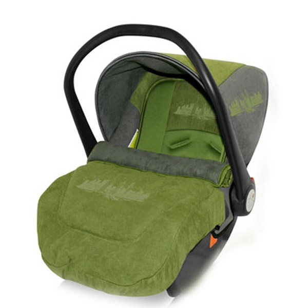 Автокресло Bertoni Lifesaver Green City