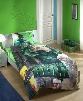 Постельное белье TAC Hulk