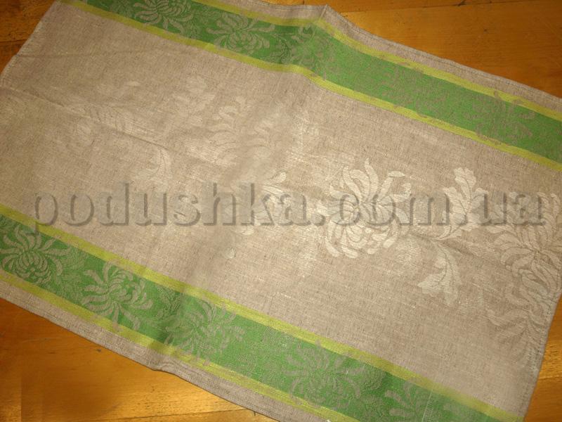 Полотенце кухонное Элли 10с319-ШР зеленое