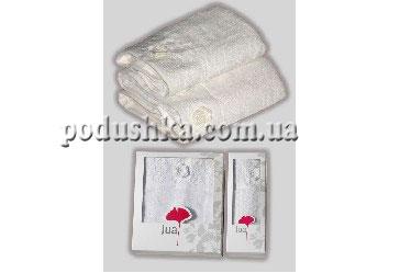 Набор полотенец LOTUS CREAM  (2шт), Jua