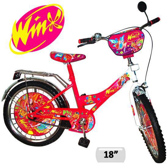Велосипед двухколесный на 18 дюймов Укрпромресурс Winx 131802