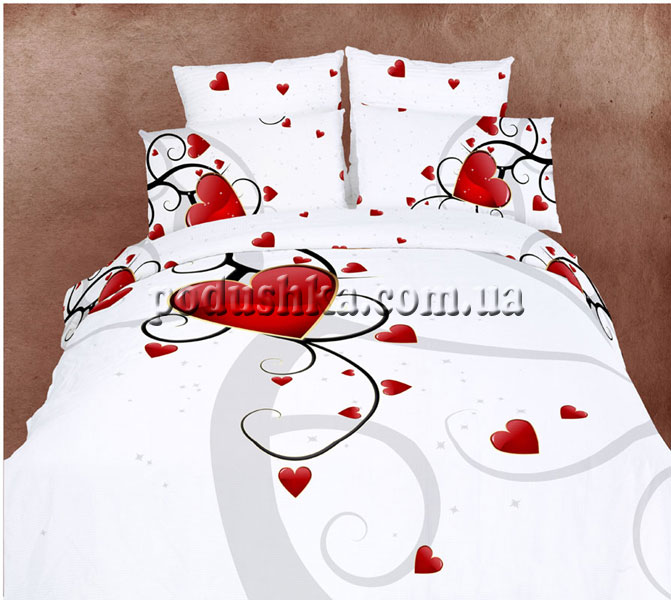 Постельное белье Валентинка, Love You