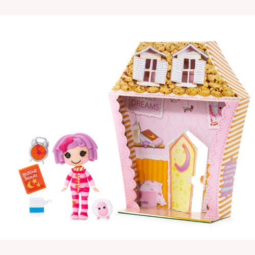 Кукла Minilalaloopsy с аксессуарами - Перышко