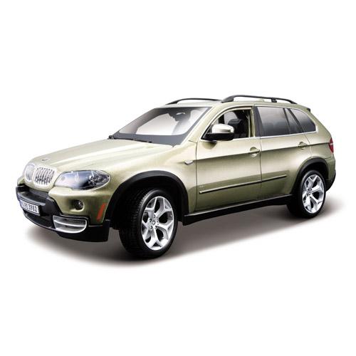 Автомодель - BMW X5 (коричневый металлик, 1:18)