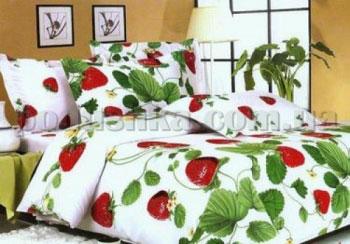 Комплект постели Strawberry garden Dophia