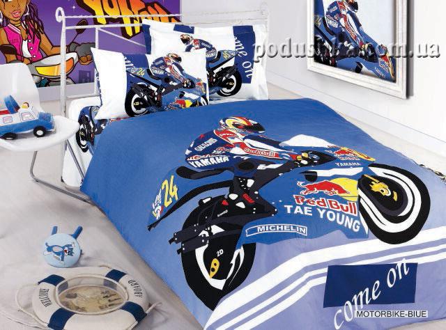 Комплект постели Motorbike blue, ARYA