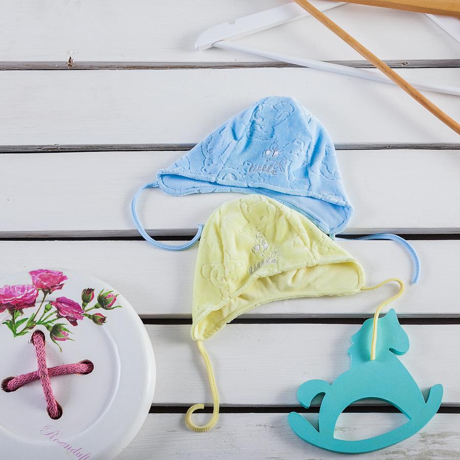 Шапочка с завязками для малышей Фламинго 578-510