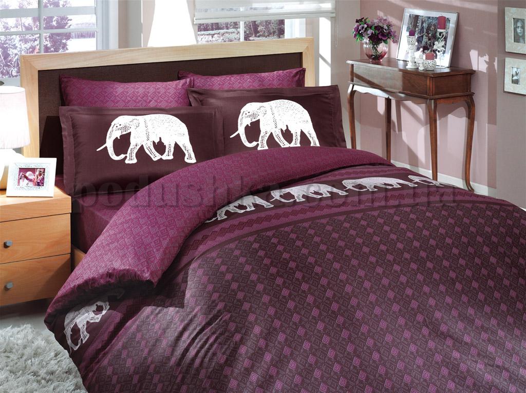 Постельное белье Hobby Indigo фиолетовый