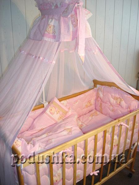 Спальный комплект для детской кроватки ВЕСЕЛКА-2