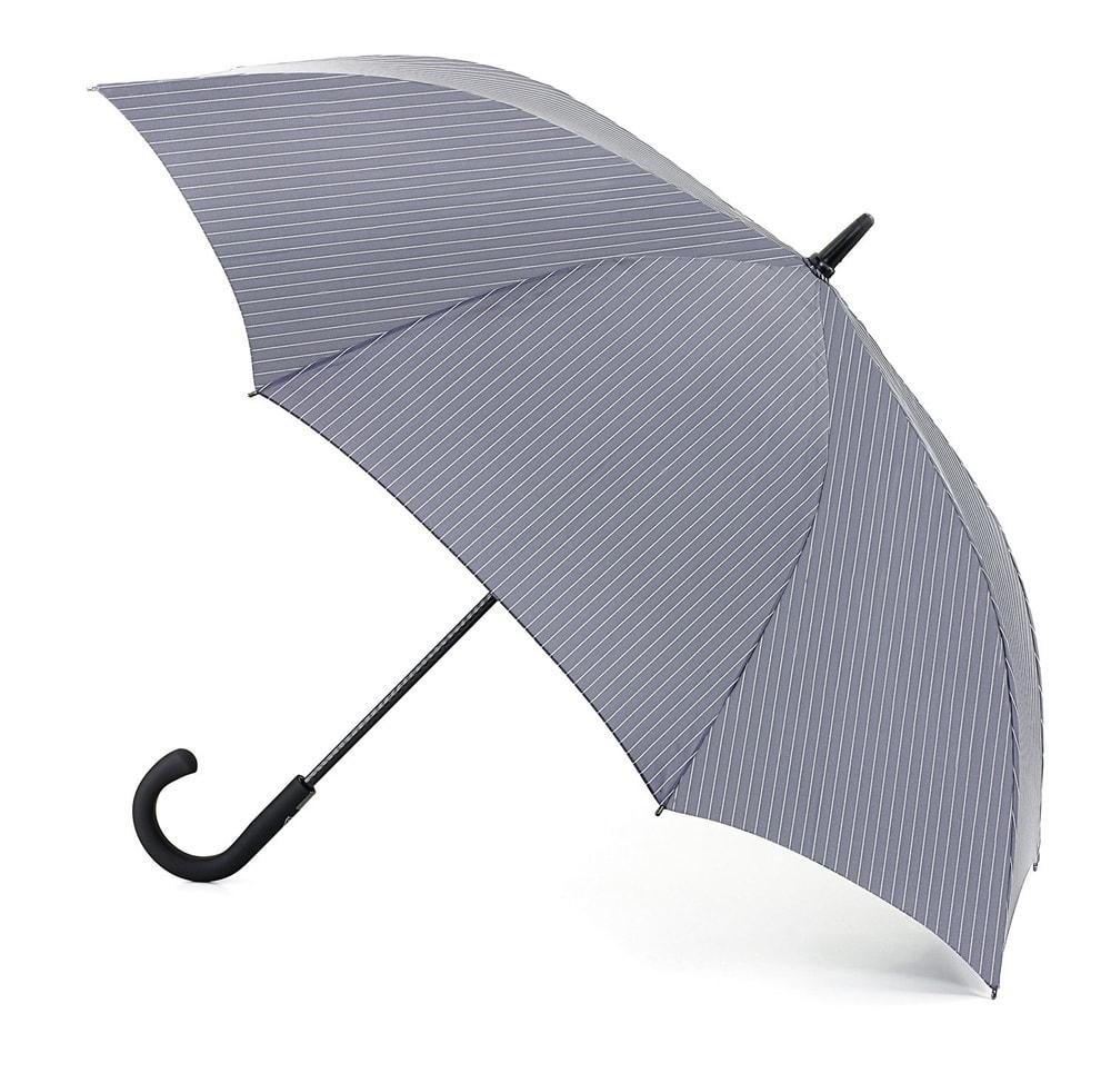 Мужской зонт-трость Fulton Knightsbridge-2 G451 Grey серый