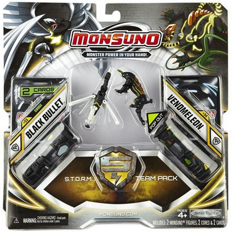 Набор для битвы Monsuno S.T.O.R.M. Black Bullet и Venomeleon Сombat 2-Packs W4 34439-42935-MO