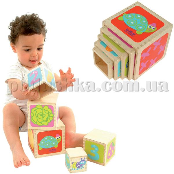 Пирамидка Boikido Маленькие-большие кубики