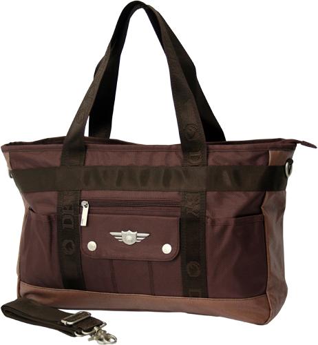 Большая черная сумка Derby 0278035