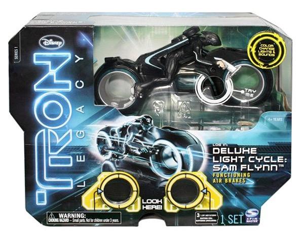 Световой мотоцикл Tron