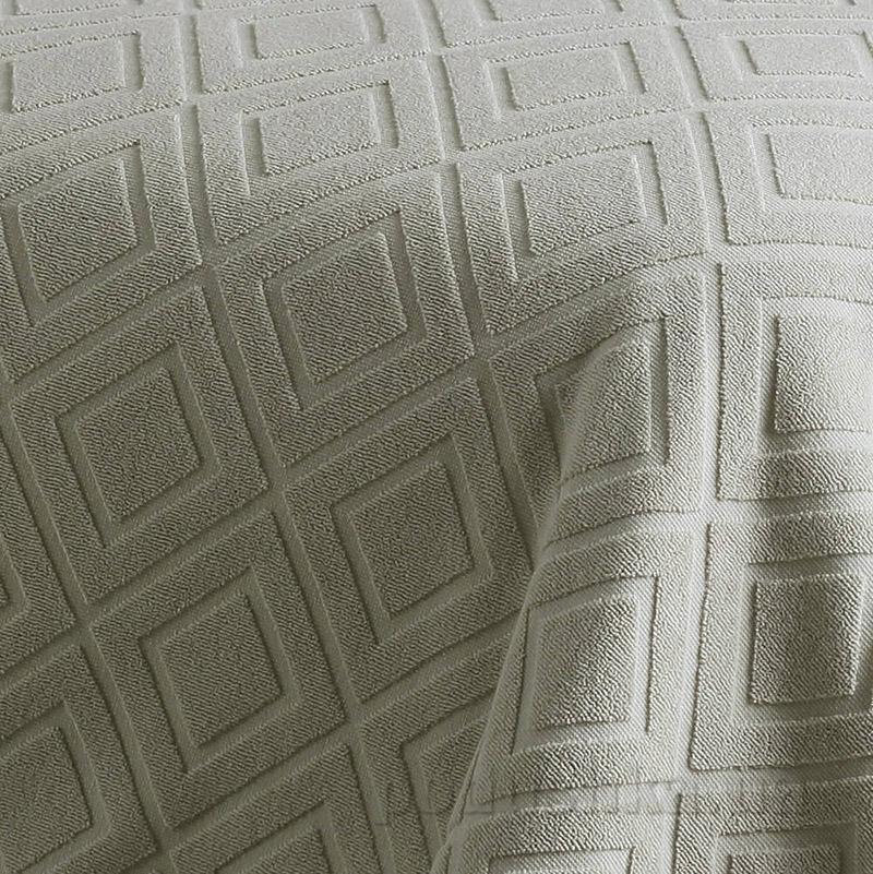 Простынь-покрывало махровая Pavia Violeta бежевая 220х240 см  Pavia