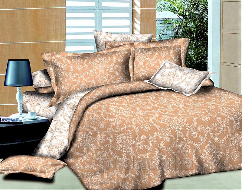 Комплект постельного белья Autumn ornaments L-1582 SoundSleep поплин