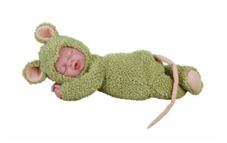 Кукла-мышка 30см