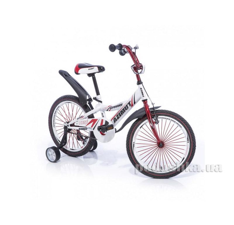 Велосипед Azimut Crossere 16 Бело-красный   Azimut