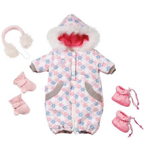 Одежда для куклы Baby Born - Теплый комбинезон