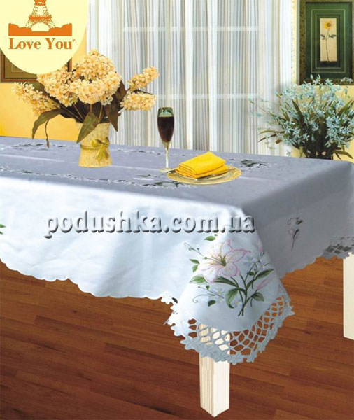Скатерть Love you YM 103024 B