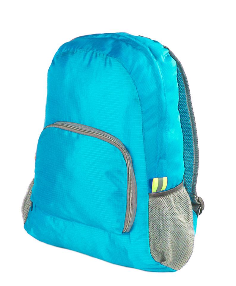 Рюкзак складной Traum 7071-12 голубой