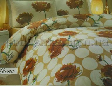 Постельное белье Hobby Leona коричневый