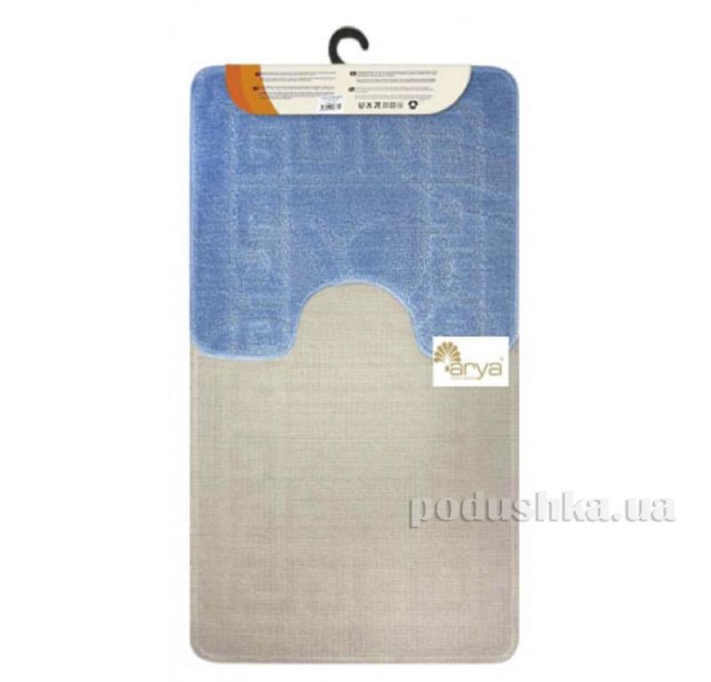 Комплект голубых ковриков для ванной комнаты Mono Arya 1380077   ARYA