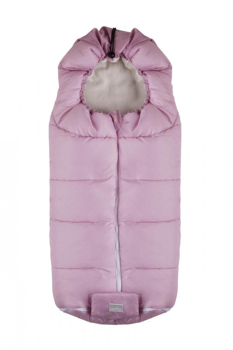 Конверт Nuvita 9445 Junior Essential розовый/бежевый