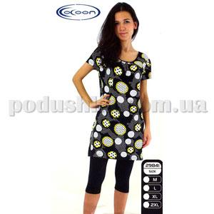 Костюм женский с капри Cocoon 29841