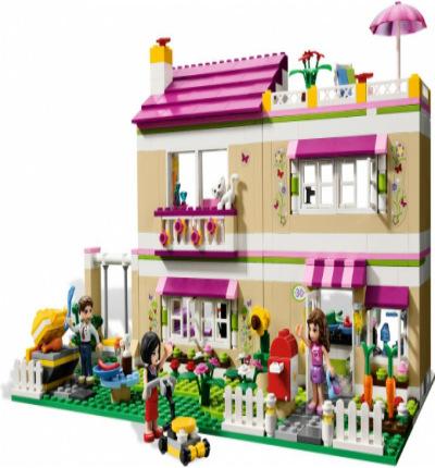 Дом Оливии Friends