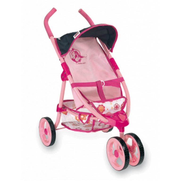 Коляска 3х-колесная Loko Toys  Fashion 97072 38х63х68 см