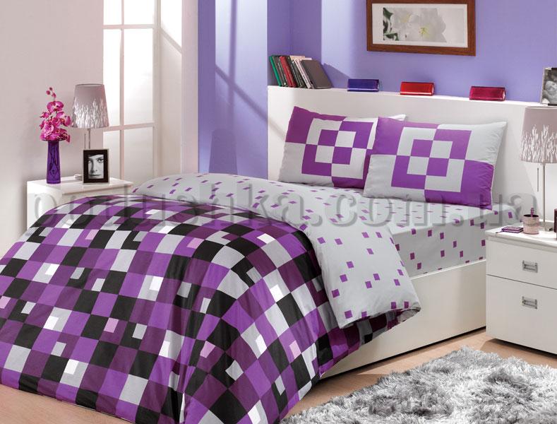 Постельное белье Hobby Mirage фиолетовый