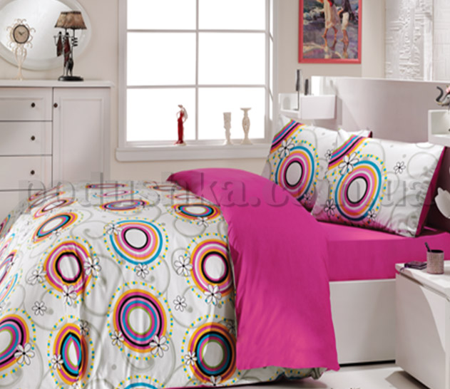 Постельное белье Hobby Trend розовый