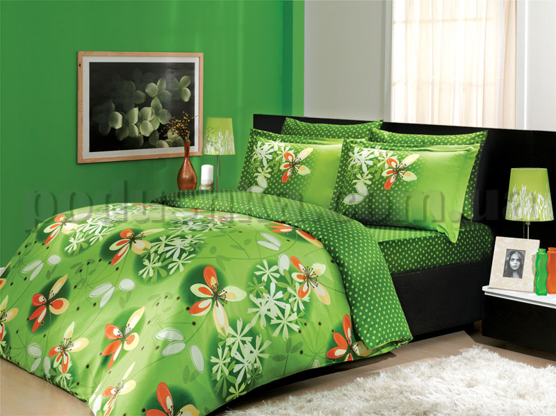 Постельное белье Hobby Chichek зеленый