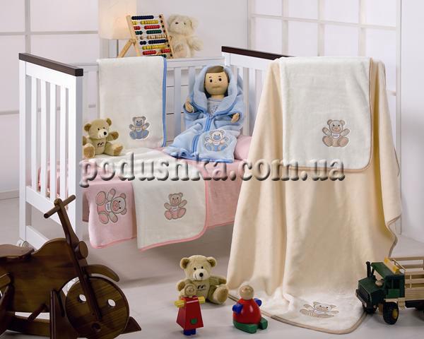 Плед-конверт детский Teddy-016 MORA