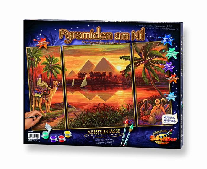 Художественный творческий набор Пирамиды 3 в 1