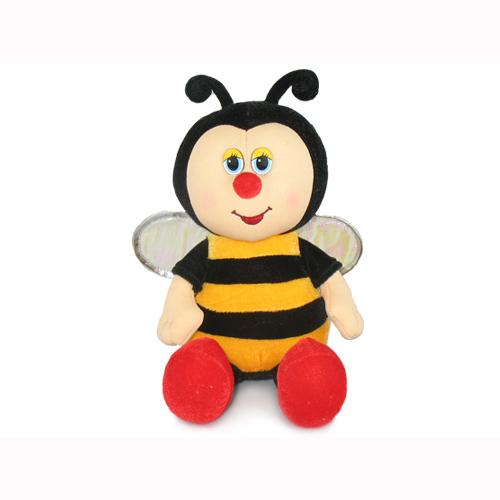 Мягкая игрушка - Пчелка музвкальная, 19 см