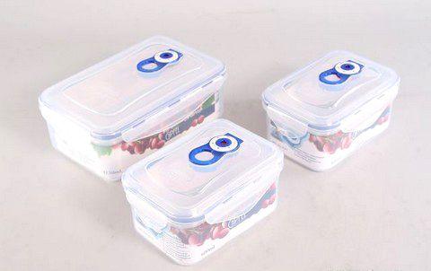 Комплект герметичных пластиковых контейнеров для хранения продуктов 4547   Gipfel