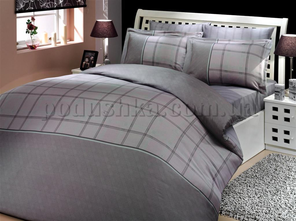 Постельное белье Hobby Eva серый