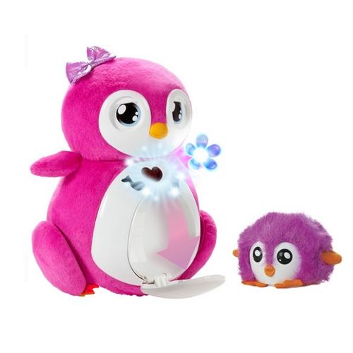 Интерактивная игрушка - Пингвинчик Пенбо (розовый, озвуч. рус. яз.)