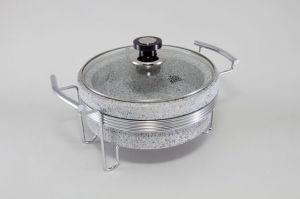 Круглый мармит (нерж. сталь) 5769-S