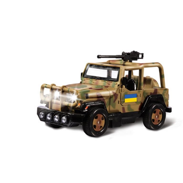 Автомодель Технопарк Внедорожник военный CT1061(SL598MWB)