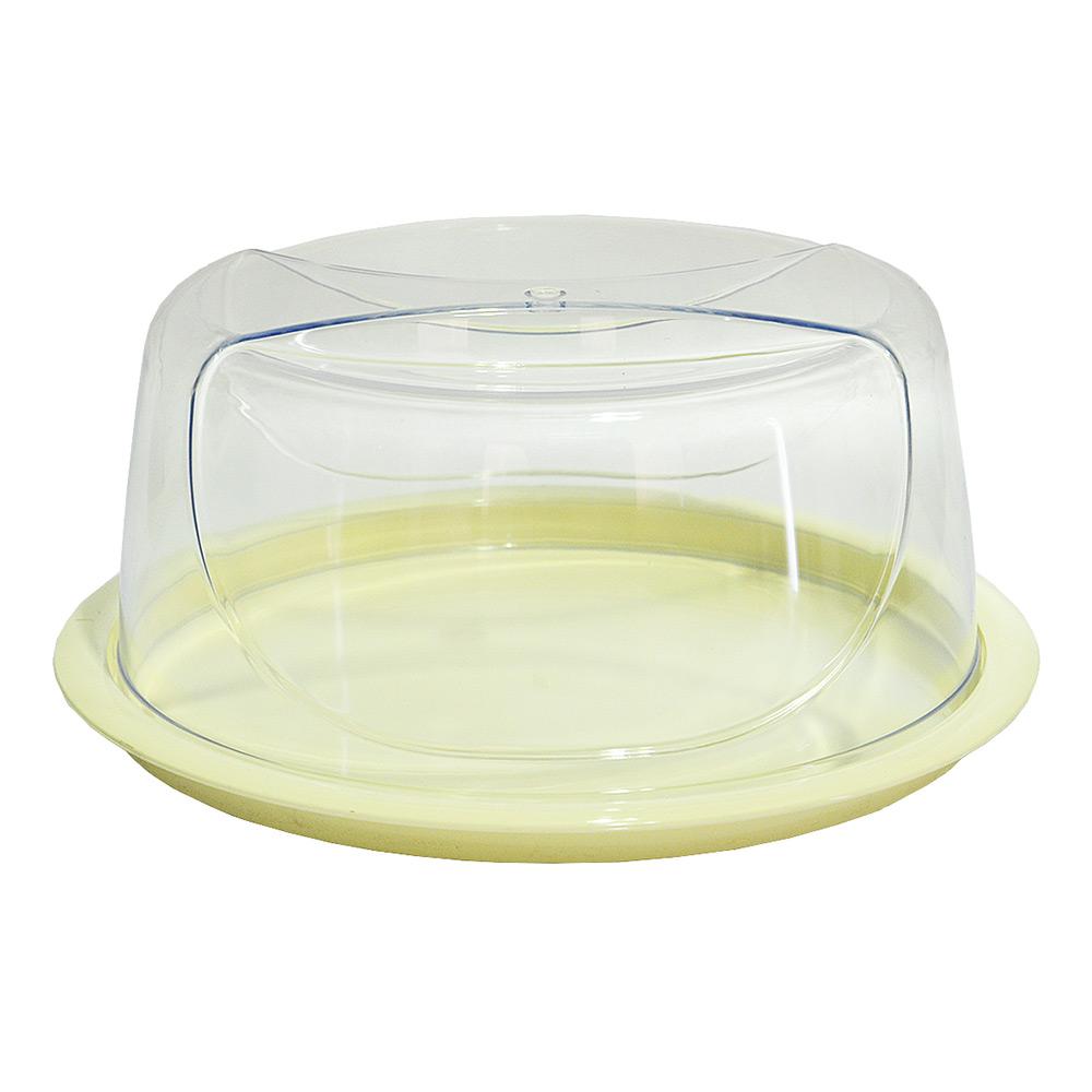 Тортовница круглая Bager Smart BG-422 прозрачная   Bager